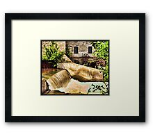 Vermillion Mill Framed Print
