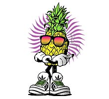 High Rolling Pineapple  Photographic Print