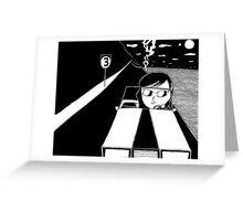 Hiroko A-Go-Go Greeting Card