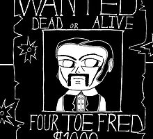 The Legend of Four Toe Fred by John Meyer