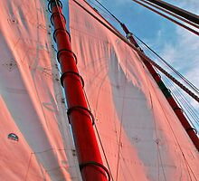 Mast and Rigging of the Adirondack II by Kenric A. Prescott