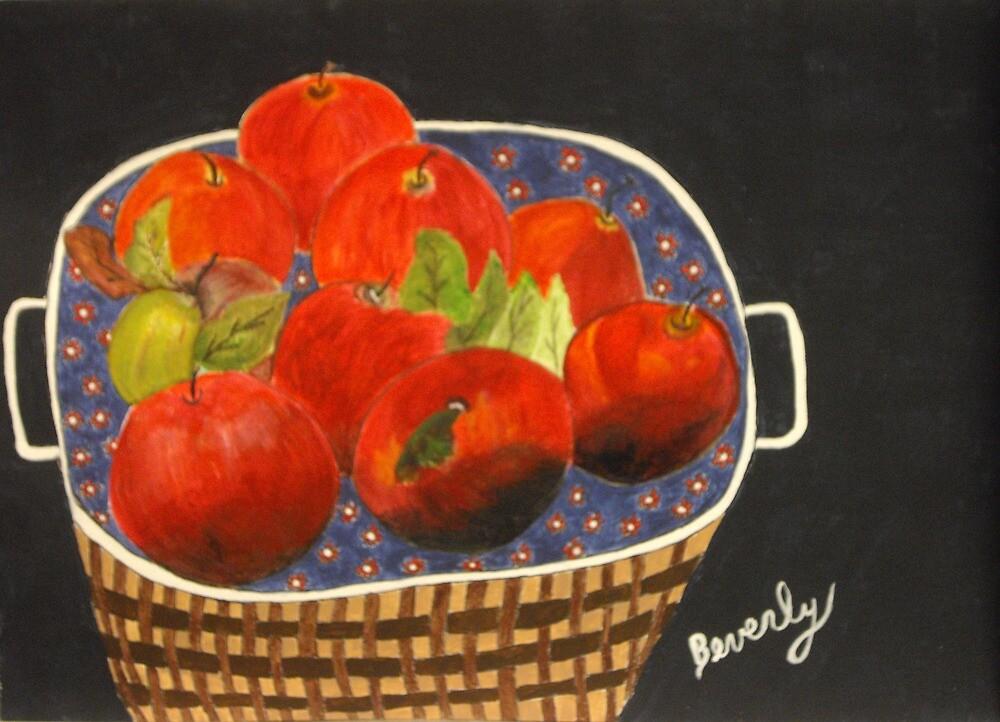 Basket of Apples by Beverly Marsh by CoastalCarolina