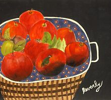 Basket of Apples by Beverly Marsh by CoastalCarolina
