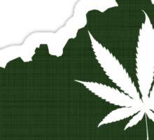 Marijuana Leaf Kentucky Sticker