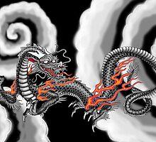 Japanese Cloud Vortex by Devaron