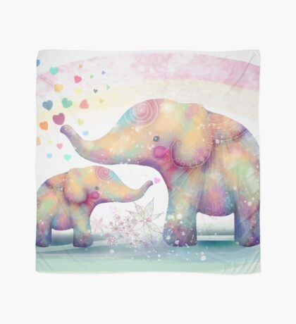 elephant affection Scarf