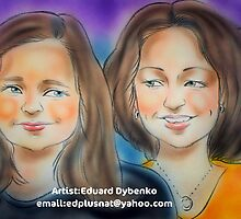 Hand Painted Portrait by teresam