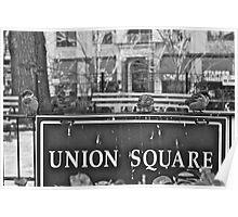 Union Square Poster