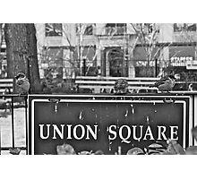 Union Square Photographic Print