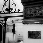 St. Louis Cemetery No. 1 by ckimages
