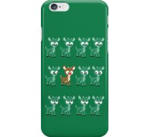 LOOK! It's Rudolph! v2(Green) iPhone Case/Skin