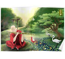 Oriental Serenity Poster