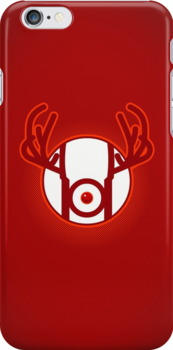 RED NOSED LANTERN by AnishaCreations