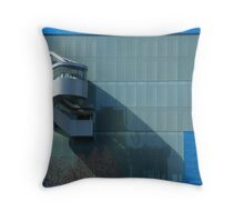 Walkout on the Wall Throw Pillow