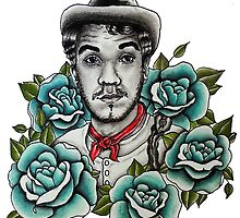 "Mario Moreno ""Cantinflas"" Portrait by alxbngala"