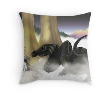 Mystical Riverbed colorized Throw Pillow