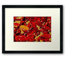 Red Hot! Framed Print
