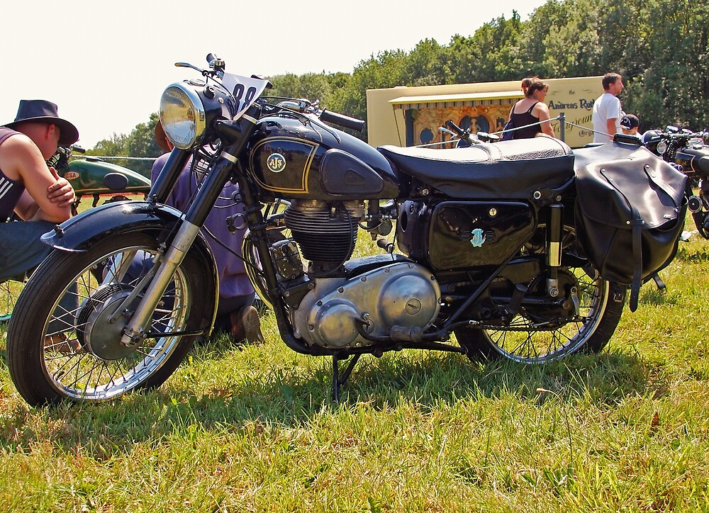 AJS Model 16MS by Willie Jackson