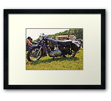 AJS Model 16MS Framed Print