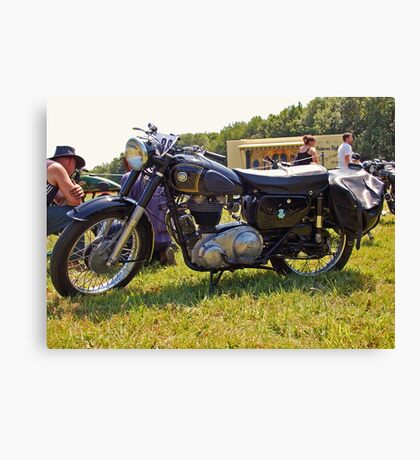 AJS Model 16MS Canvas Print