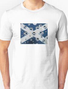 Saltire in the Rain Unisex T-Shirt