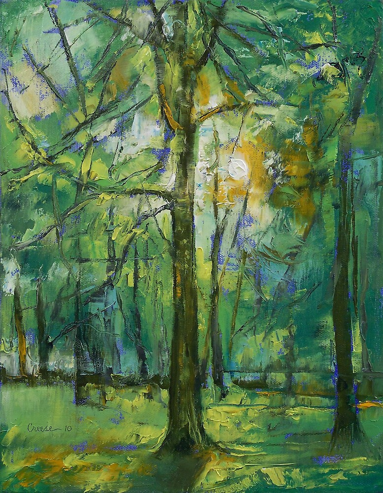Emerald Twilight by Michael Creese