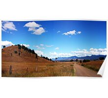 Country Road - Rosevale Poster
