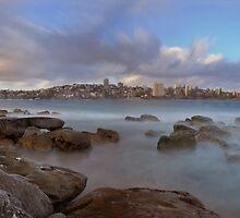 Reef Beach Panorama by Michael Lynch