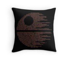 Dark Symbols Throw Pillow