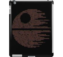Dark Symbols iPad Case/Skin