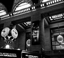 11:45 am, Grand Central Terminal by Sébastien FERRAND