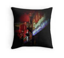 chinatown lanterns Throw Pillow