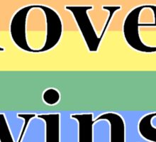 love wins. Sticker