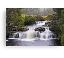 The Falls near Cradle Mountain Lodge Canvas Print
