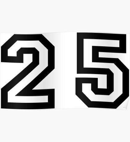 Twenty Five Poster
