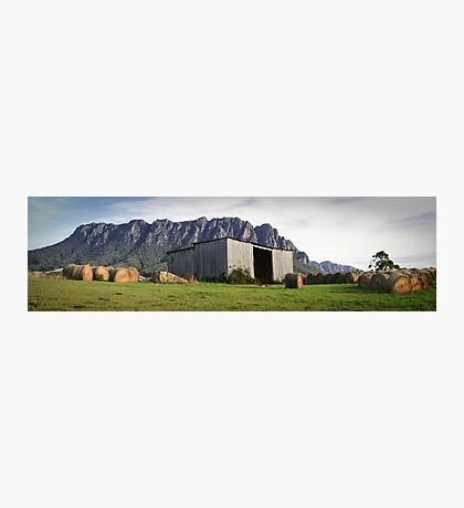 Hayshed on the Hill Photographic Print