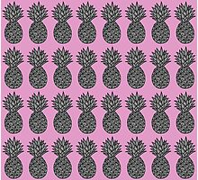 BUBBLEGUM - PINEAPPLE Photographic Print