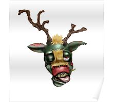 zombie rudolph Poster