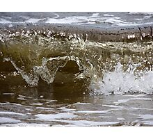 Wave. 5 Photographic Print