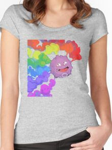 Koffing supports equality Women's Fitted Scoop T-Shirt