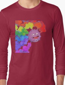 Koffing supports equality Long Sleeve T-Shirt