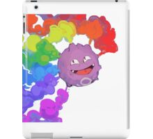 Koffing supports equality iPad Case/Skin