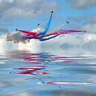 The Red Arrows - Five Four Split by Colin  Williams Photography