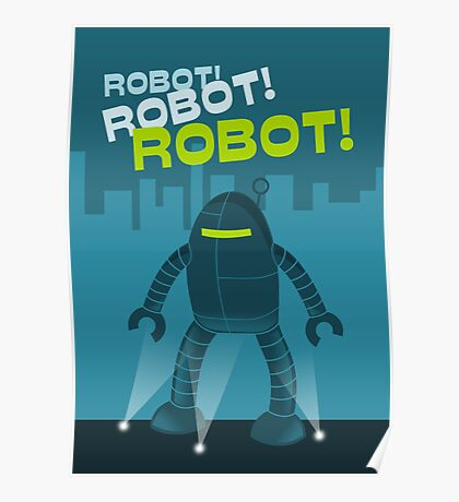 Robot! Robot! Robot! Poster