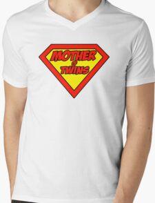 Super mom Mother of Twins Mens V-Neck T-Shirt