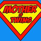 Super mom Mother of Twins by Brett Gilbert