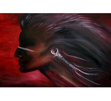 Native American (in Oils) Photographic Print