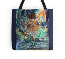 Elder Scrolls Oblivion: Argonian in the Cave Tote Bag