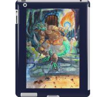Elder Scrolls Oblivion: Argonian in the Cave iPad Case/Skin