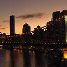 Brisbane's Story Bridge by Lawrie McConnell